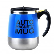 Creative Fully Auto Magnetized Stirring Cup Durable Fine Stainless Steel Cup Powerful Stirring Mug Best Gift