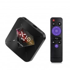 R-TV Box X10 Plus 6K Android 9.0 TV Box 32GB/64GB Allwinner H6 Quad Core