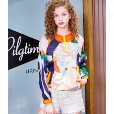 ZVBV 2020 New Spring Casual Sunscreen Fashionable Thin Short Coat Fashionable Women's Wear Printed Sunscreen