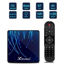 X88 PRO+ 4K Android 9.0 TV BOX RK3368 Pro Octa-core 32/64/128GB ROM