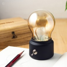 Creative Decoration Bulb Lamp for Passageway Corridor Rechargeable Mini LED Night Light Decorative Night Lamp