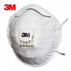 3M 8122 Disposable FFP2 Face Masks with Cool Flow Valve Wholesale 1500Pcs
