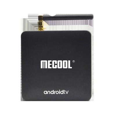 MECOOL KM8 ATV TV Box Amgogic S905X 2GB+16GB Google Certified 4K Media Player with Voice Remote