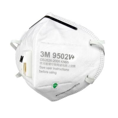 3M 9502V+ KN95 Safety Breathing Masks Particulate Respirator 25Pcs