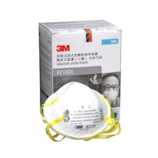 3M 8210CN Disposable KN95 Face Mask Flu N95 Particulate Respirator Filter Dustproof Safe Guard 20pcs