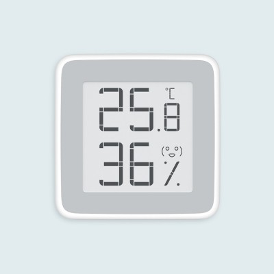Electronic Thermometer Digital Wet Thermometer with Ink Screen in Baby Room Intelligent Thermometer Hygrometer