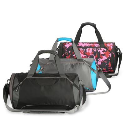 Fashion Waterproof Large Capacity Gym Sports Bag Traveling Bag Dry Wet Depart Handbag with Comfortable Handle Light weight