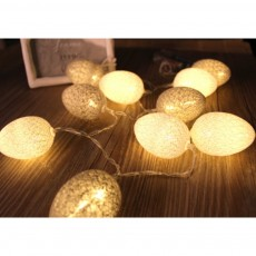 Colorful Easter Eggs String Lights with Remote Control Battery Operated String Light for Indoor and Outdoor Decoration