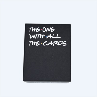 The One with All Cards Role-playing Games Interesting Coated Paper Poker Cards Against Humanity