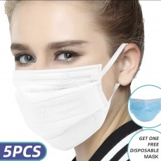 CM KN90 Face Mask 8 Layers Filter Smog Industrial Dust Particulate Respirator
