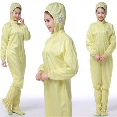 Protective Clothing Anti-static Hooded Split Clothing School Hotel Janitor Factory Dust-free Workshop Inspection Jumpsuit