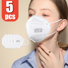 Virtu Health FFP2 Respirator Face Mask TH 9801 with CE Certification