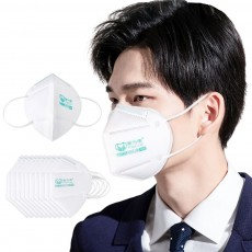 POWECOM PM2.5 Respirator KN95 Anti Pollution Face Mask 10Pcs without Breather Valve