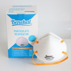Benehal Cup-type NIOSH N95 Respirator MS6115 Head-mounted Masks