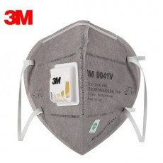 3M 9041V 9042V KN90 Respirators Activated Carbon with Breathing Valve Spray Paint Dustproof Masks