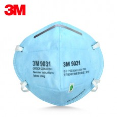 3M 9031 9032 Dust Mask Anti Smog PM2.5 Blue Windproof KN90 Particulate Respirator
