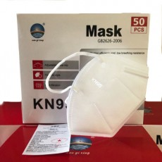 Nanqixing KN95 Respirator Masks Prevent Dust Smog PM2.5 Disposable Masks 50Pcs