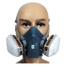 3M 7502 Mask Silicone Half Face Protective Mask Gas Mask(Main Body)
