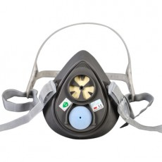 3M 3200 Protective Respirator Half Mask Smog Dust Particle Protection Mask