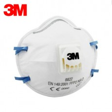 3M 8822 FFP2 Dust Respirator Industrial Fine Dust Grinding Electric Welding Anti-haze PM2.5 with Breathing Valve