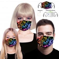 Dazzle Colour PM2.5 Cotton Dust Masks For Children, Adult 5Pcs/Pack