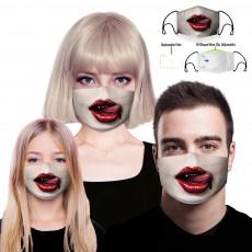 Novelty Anti Dust Reusable Face Masks Non Medical Cotton Masks 3 Pack