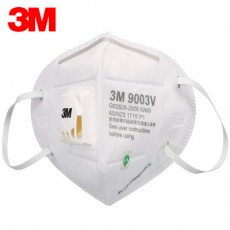 3M 9003V Children Dust Mask PM25 with Breathing Valve KN90 Dust and Smog Respirators for Kids