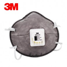 3M 9913V Activated Carbon Mask KN90 Anti-smog PM2.5 Anti-organic Steam Odor Particulate Respirators