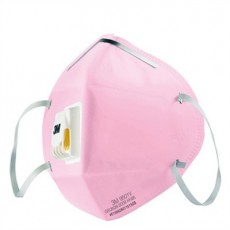 3M 9501C KN95 With Valves Dust-proof Breathable Mask Blue Pink