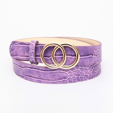 Double Round Decorative Attractive Unique Design With High Quality Belt For Women And Girls