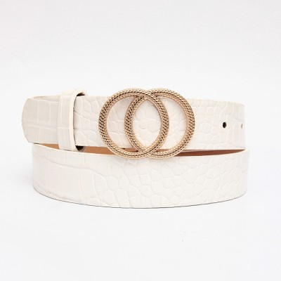 Ins Style Stylish Wild Decorative Belt With Simple Jeans Korean Version For Ladies