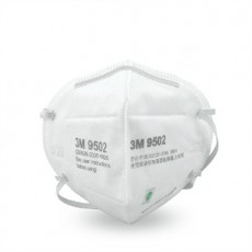 3M 9502 KN95 Participate Respirator Smog PM2.5 Anti-dust Head-mounted Protective Mask