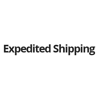 Expedited Shipping Cost & Sample Fee