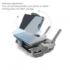 Metal Tablet Remote Control Stand Phone Holder Base Tray For DJI Mavic / Mini / Pro 1 / Air / Mavic 2 Pro Zoom / Spark Drone For DJI