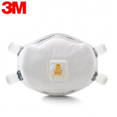 3M 8233 NIOSH N100 Particulate Respirator with Cool Flow Valve Advanced Electrostatic Media Faceseal