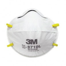 3M 8710L Particulate Respirator FFP1 Dust Mist Mask Pack of 20