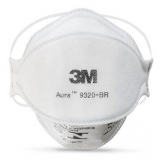 3M Aura 9320+ BR Disposable Particulate Respirator FFP2 NR D Box of 20
