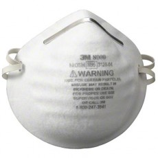 3M 8000 NIOSH Approved N95 Respirator Face Mask 30/Box
