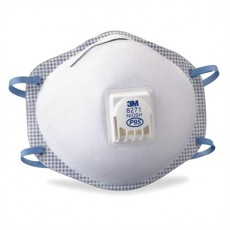 3M 8271 NIOSH Approved P95 Particulate Respirators with Exhale Valve Box of 10