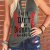 Innovative Trendy Baseball Printing Personalized Letter High Quality Vest Designed for Women And Girls 2