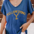 Yellowstone Printed Cotton With Linen Colid Color T-shirt Charming match For Ladies And Girls 5
