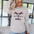 Instyle Letter Printing Design With Simple And Stylish Round Neck Sweater Suitable For Energetic Young Ladies And Girls 4