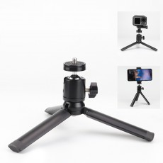 Short Small Ant SLR Camera Stand Mobile Phone Selfie Table Vibrato Live Aluminum Tripod For Osmo And Gopro