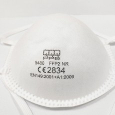 QQQ 9480 Cup-shaped Particulate Respirator CE2834 FFP2 NR Protective Mask