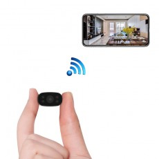 Mini PNZEO Cameras Hidden Security Cameras, 1080P HD WiFi Wireless Remote Camera Nanny Cam Small Recorder