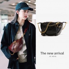 2020 New Bags European And American Fashion Same Style Shoulder Bag Fashion Western Style Small Waist Bag Ins Style Small Messenger Bag