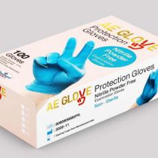 AE Nitrile Disposable Gloves Powder Free Non-Sterile Examination Gloves