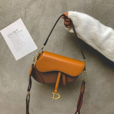 High-end Bag Cross-body Western Style Broadband Fashion No Match2020 New Spring And Summer Tide Super Hot Net Red Saddle Bag