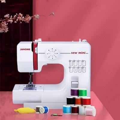 JANOME Electric Desktop Mini Home Sewing Machine Micro Bike Thick Multifunctional Manual Sewing