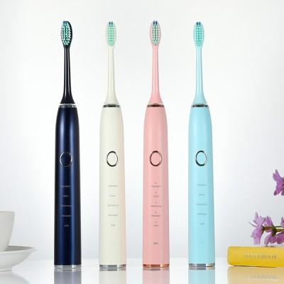 T9 Food-grade PP Material Brush Handle Imported DuPont Bristles Magnetic Levitation Dual-axis Sonic Motor 8 Grade Waterproof Electric Toothbrush